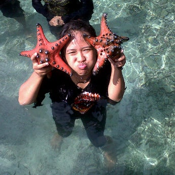 Photo taken at Penangkaran ikan hiu by ovik s. on 5/18/2012