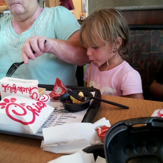 Photo taken at Chick-fil-A by Richard W. on 7/21/2012