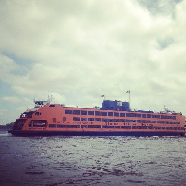 Photo taken at Staten Island Ferry Boat - Guy V. Molinari by Kevin C. on 5/25/2012