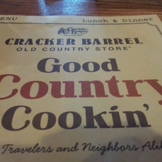Photo taken at Cracker Barrel Old Country Store by Christopher F. on 8/9/2012
