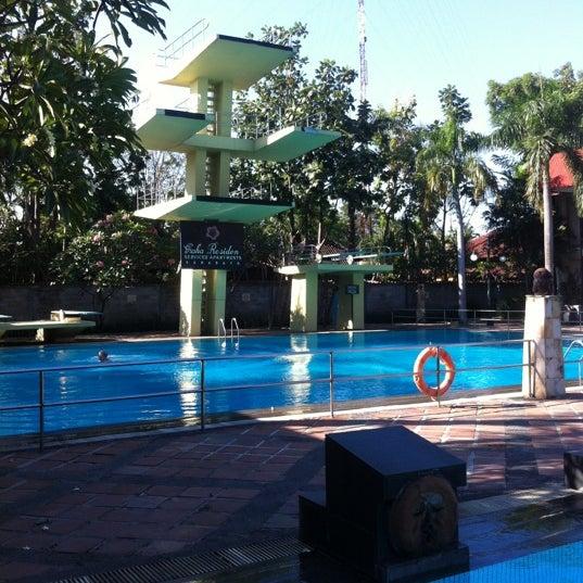 Photo taken at Graha Residence Swimming Pool by Phillipe J. on 6/23/2012