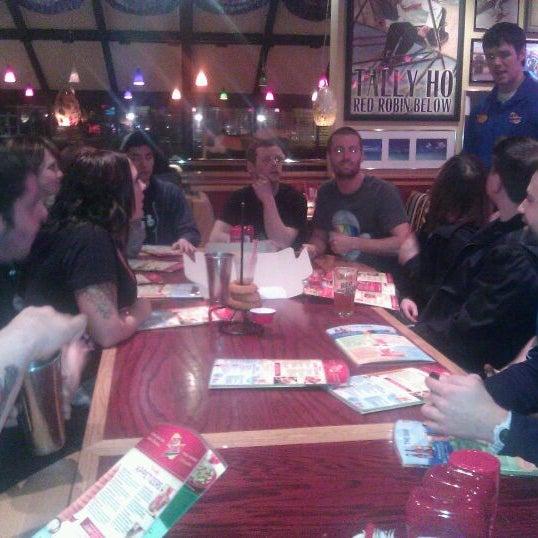 Photo taken at Red Robin Gourmet Burgers by keri c. on 2/19/2012