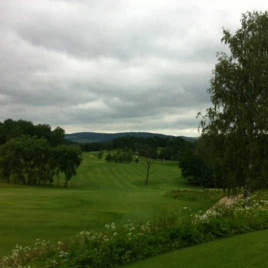 Photo taken at Ypsilon Golf Resort Liberec by Michal K. on 6/26/2012