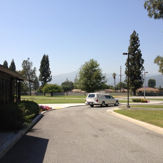 Photo taken at Oakdale Memorial Park and Mortuary by Rudy M. on 5/31/2012