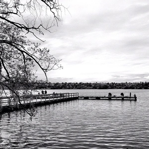 Photo taken at Green Lake Boathouse by Dean H. on 6/23/2012