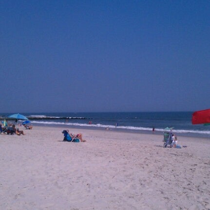 Photo taken at East Atlantic Beach by Edwin O. on 6/21/2012