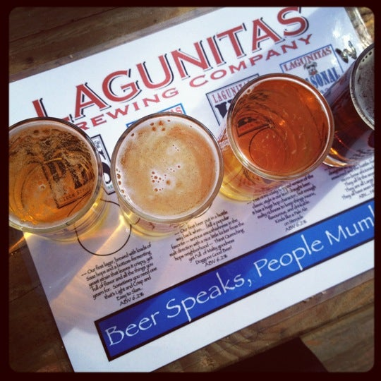 Photo taken at Lagunitas Brewing Company by Dhyana on 2/26/2012