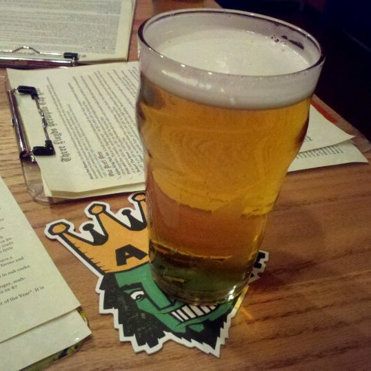 Photo taken at Three Floyds Brewery & Pub by Mio O. on 8/25/2012