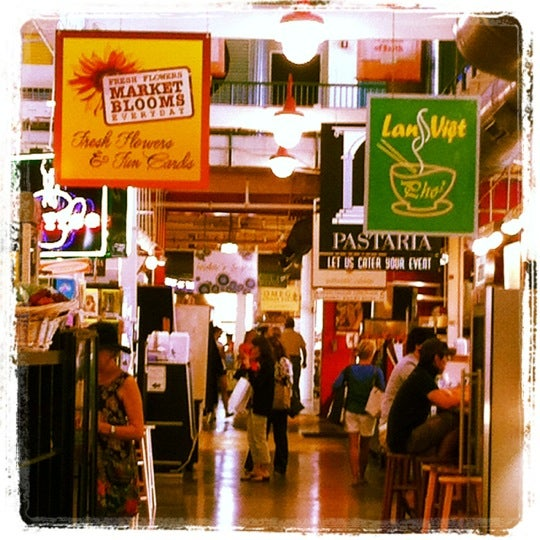 Photo taken at North Market by Steph K. on 6/6/2012