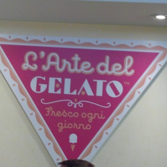 Photo taken at L'Arte Del Gelato by Dave S. on 9/3/2012
