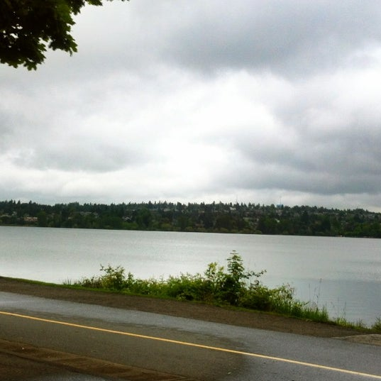 Photo taken at Green Lake Boathouse by Erik B. on 6/19/2012