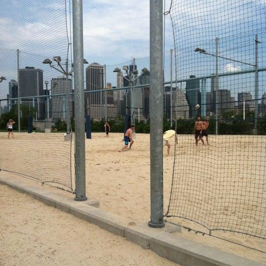 Photo taken at Brooklyn Bridge Park - Pier 6 by Anngelica N. on 6/10/2012