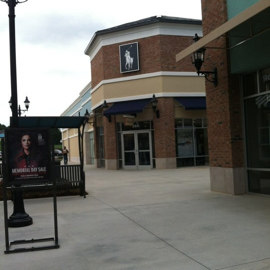 Photo taken at Mebane Tanger Outlets by Michael Y. on 5/23/2012