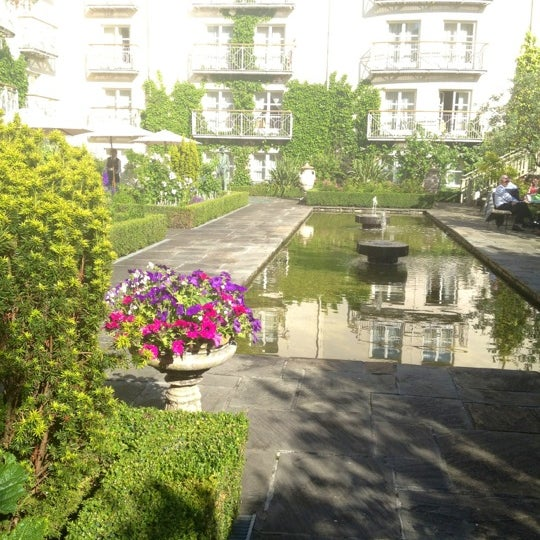 Photo taken at Merrion Hotel by Karen C. on 7/4/2012