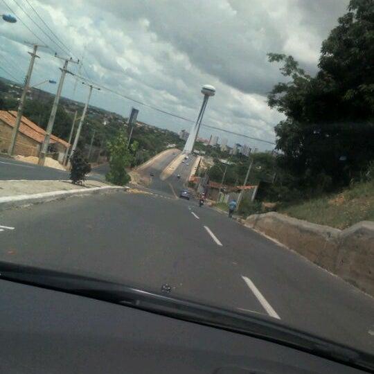 Photo taken at Ponte Estaiada by Maura E. on 3/3/2012