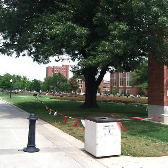 Photo taken at South Oval by Samantha H. on 4/30/2012