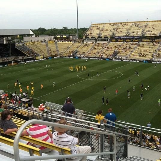 Photo taken at MAPFRE Stadium by Teague W. on 7/14/2012