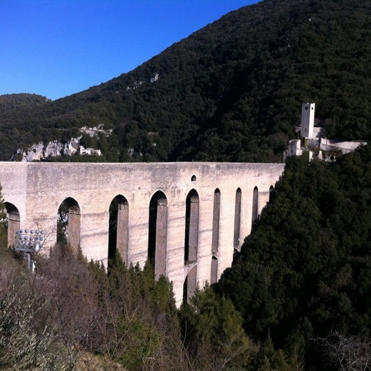 Photo taken at Ponte Delle Torri by Francy on 2/27/2012