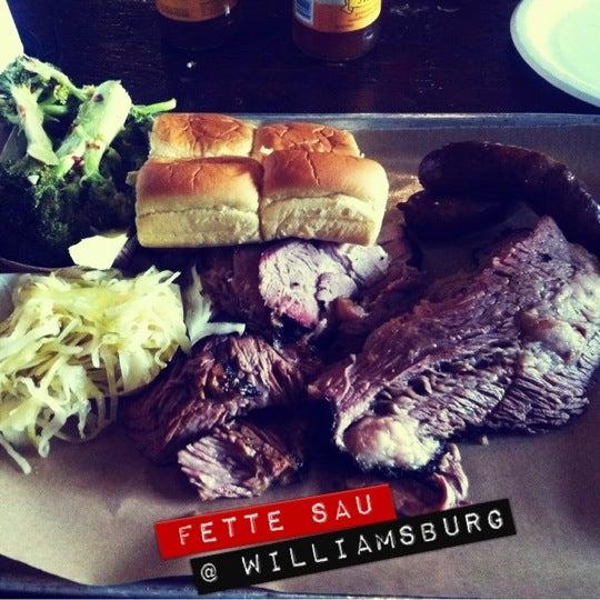 Photo taken at Fette Sau by Mariel M. on 5/20/2012