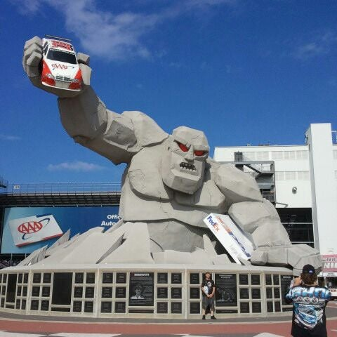 Photo taken at Dover International Speedway by Alicia M. on 6/2/2012