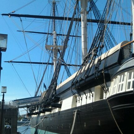 Photo taken at USS Constellation by Jason on 5/18/2012