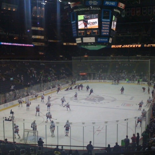 Photo taken at Nationwide Arena by Chad S. on 4/7/2012