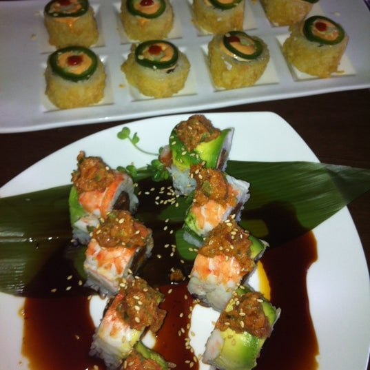 Photo taken at Harney Sushi by Jenn A. on 2/20/2012