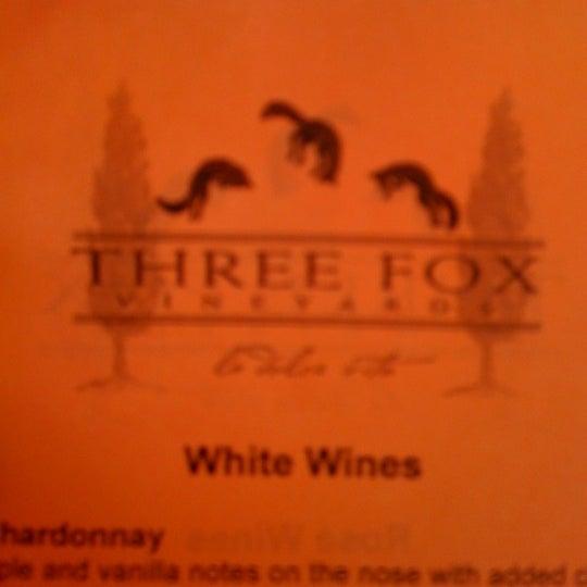 Photo taken at Three Fox Vineyards by Chris M. on 7/21/2012