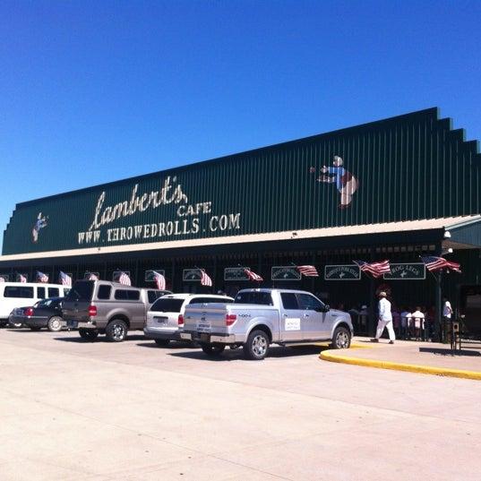 Photo taken at Lambert's Cafe by Rod M. on 6/22/2012