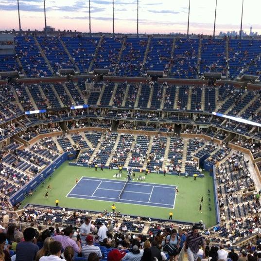 Photo taken at US Open Tennis Championships by Csilla F. on 8/31/2012