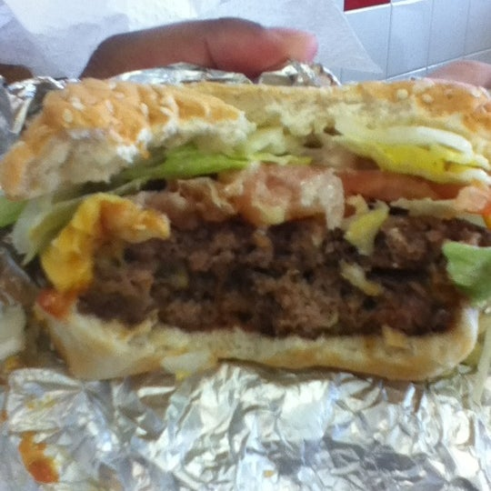 Photo taken at Five Guys by LaDonna G. on 2/13/2012