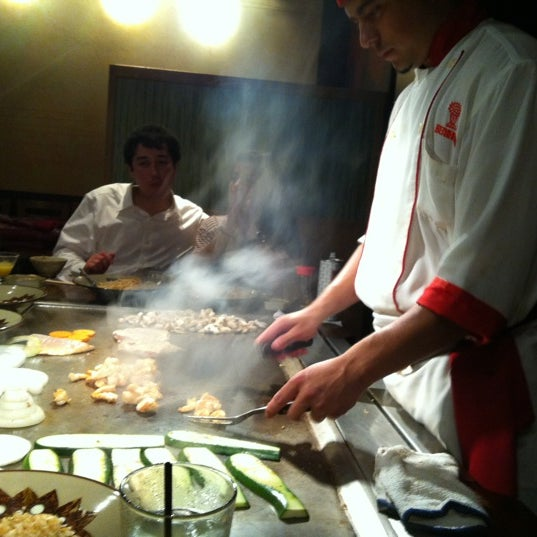 Photo taken at Benihana by Julian N. on 6/23/2012