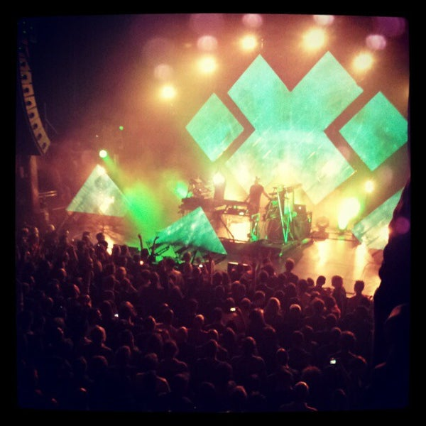 Photo taken at AB Ancienne Belgique by Kristof C. on 4/12/2012