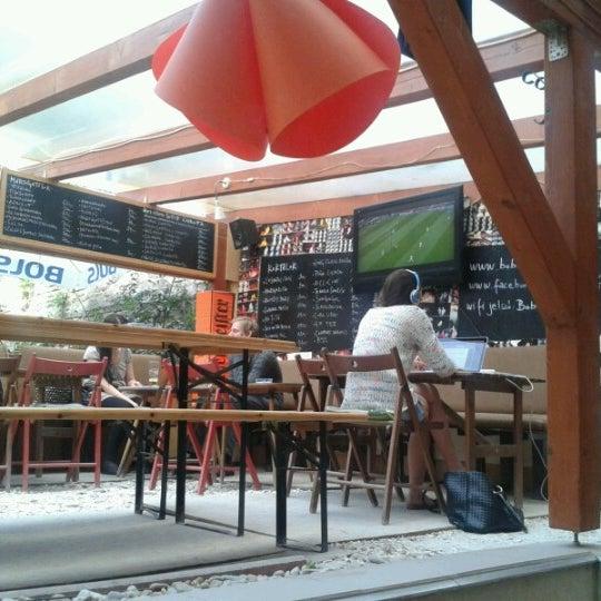 Photo taken at Bobek Cafe by Vera T. on 6/14/2012