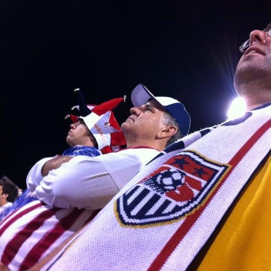 Photo taken at MAPFRE Stadium by Sarah P. on 9/12/2012