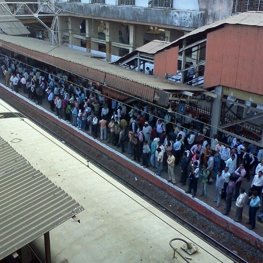 Photo taken at Dadar Railway Station by Prageeth Д. on 3/7/2012
