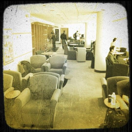 Photo taken at Korean Air Lounge by Yael C. on 5/19/2012