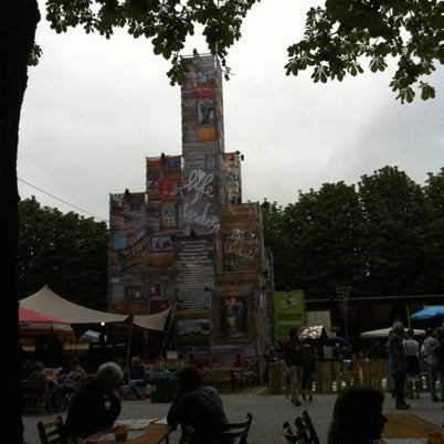 Photo taken at Festivalplein Theaterfestival Boulevard by Tony N. on 8/8/2012
