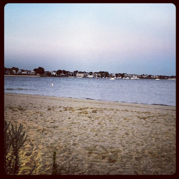Photo taken at Constitution Beach by Phal P. on 7/31/2012