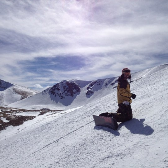 Photo taken at Breckenridge Ski Resort by Lindsay T. on 3/25/2012