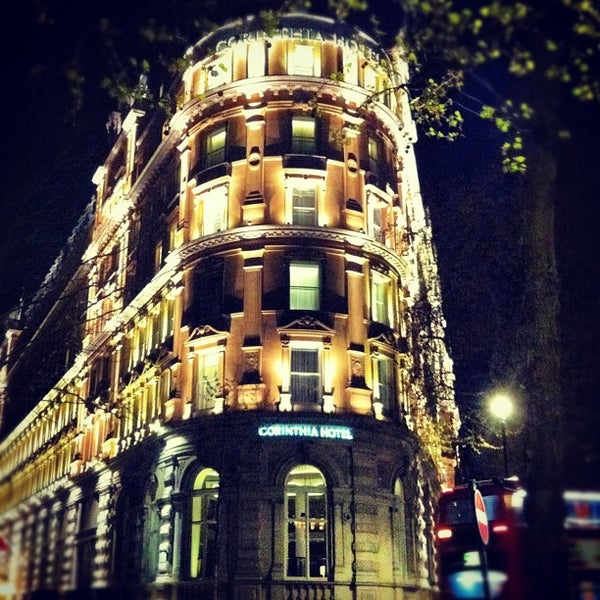 Hotel recommendations in London, United Kingdom - Corinthia London - Excellent business hotel. Good for sightseeing with access to public transportation. Great rooms and fantastic service. Great pool. Awesome vibe. Popular among couples.