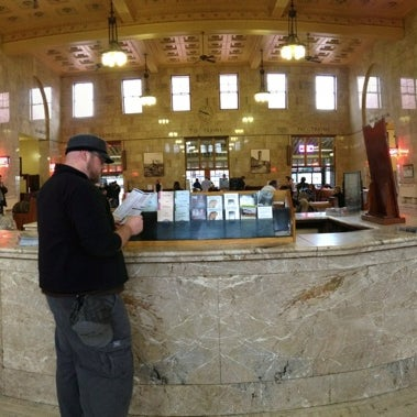 Photo taken at Union Station Amtrak (PDX) by Dannon R. on 3/3/2012