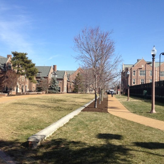 Photo taken at Washington University in St. Louis by Chris R. on 2/27/2012