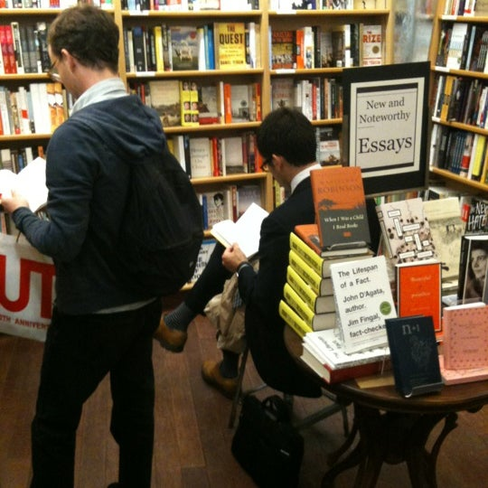 Photo taken at McNally Jackson Books by Daniel D. on 5/8/2012