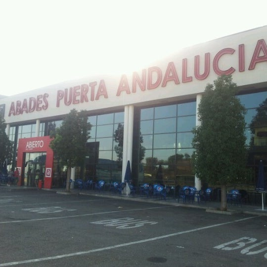Photo taken at Abades Puerta de Andalucía by Mario F. on 7/17/2012