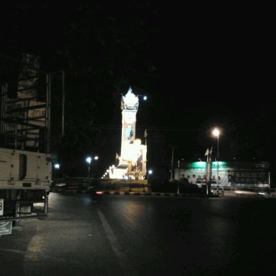 Photo taken at Maha Sarakham Clock Tower by Aoun K. on 3/9/2012