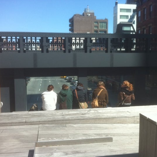Photo taken at High Line 10th Ave Amphitheatre by .oo. on 3/27/2012