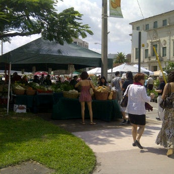 Photo taken at Gables Farmers Market by Dina A. on 2/25/2012
