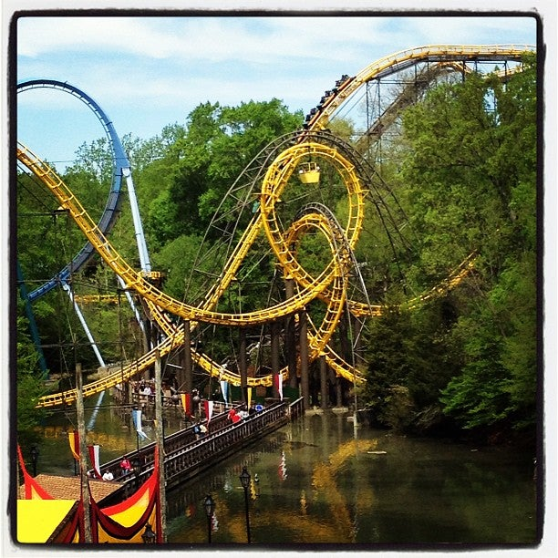 Image Result For Best Rides At Busch Gardens Virginia