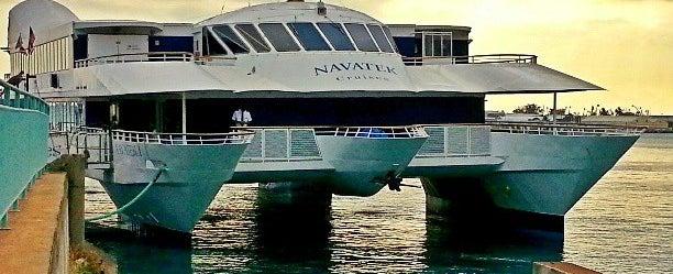 Photo taken at Atlantis Navatek Cruise by Stephen C. on 4/5/2013
